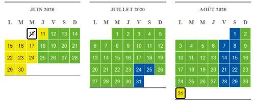 calendrier réservation billet puy du fou 2020