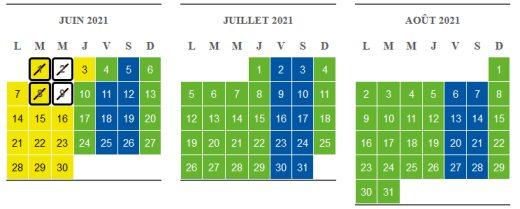calendrier réservation billet puy du fou 2021