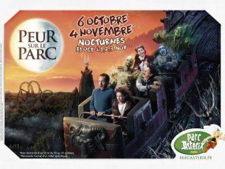 peur sur le parc asterix 2018