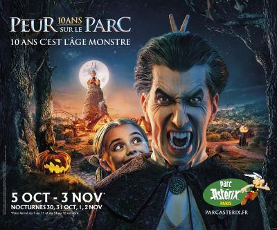 peur sur le parc asterix 2019 dates billets halloween